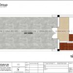 7 Bản vẽ tầng tum nhà ống tân cổ điển mặt tiền 4m tại hải phòng sh nop 0200