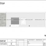 8 Bản vẽ tầng mái nhà ống 5 phòng ngủ tại hải dương sh nod 0210