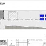 8 Bản vẽ tầng mái nhà ống tân cổ điển 5 tầng tại hải phòng sh nop 0201