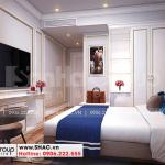 8 Không gian nội thất phòng ngủ 1 khách sạn 5 tầng tại hà nội sh ks 0070