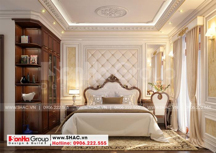 Trang trí nội thất phòng ngủ của nhà phố tân cổ điển với không gian sinh hoạt thoáng đãng nhất