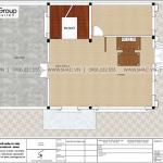 9 Bản vẽ tầng 3 biệt thự kiểu tân cổ điển đẹp tại hải phòng sh btp 0146