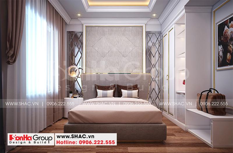 Mẫu thiết kế khách sạn tân cổ điển 5 tầng 10m x 22,5m tiêu chuẩn 3 sao tại Hà Nội – SH KS 0070 8