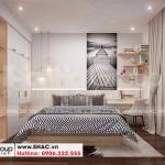 9 Không gian nội thất phòng ngủ 2 nhà ống tân cổ điển tại hà nội sh nop 0199