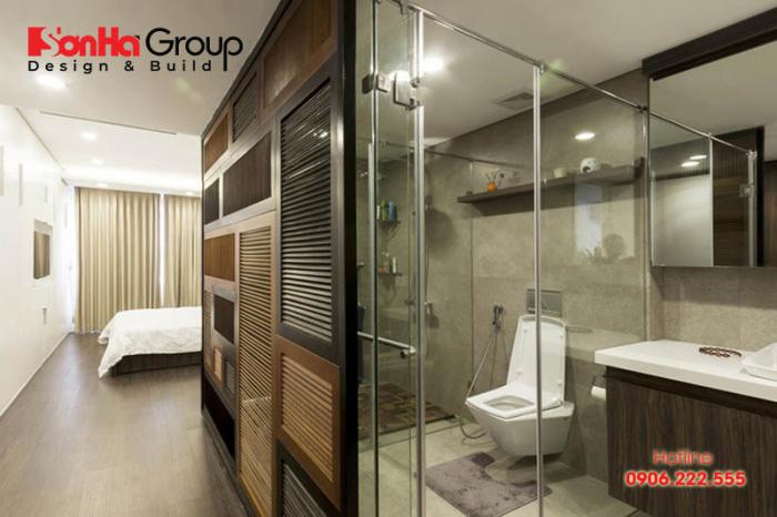 Có nên thiết kế nhà vệ sinh trong phòng ngủ hay không? 1