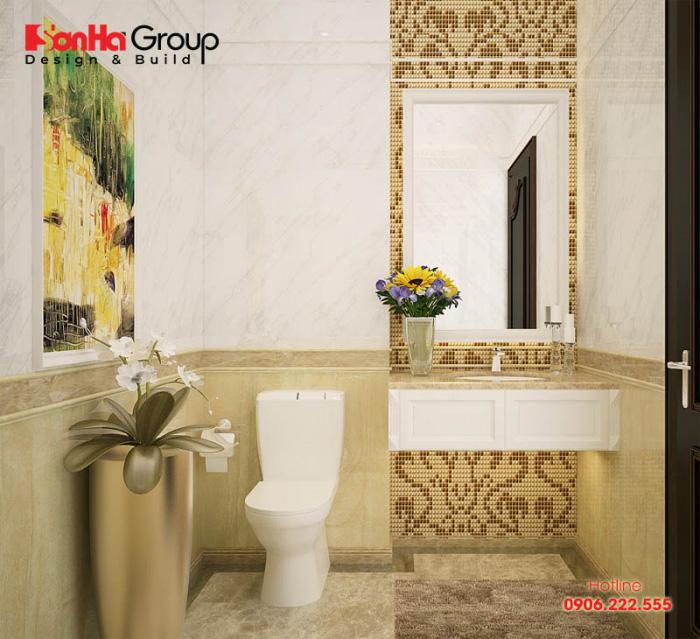 Bộ sưu tập thiết kế nội thất phòng vệ sinh phong cách hiện đại trẻ trung, năng động đem lại cuộc sống tiện nghi cho chủ nhân