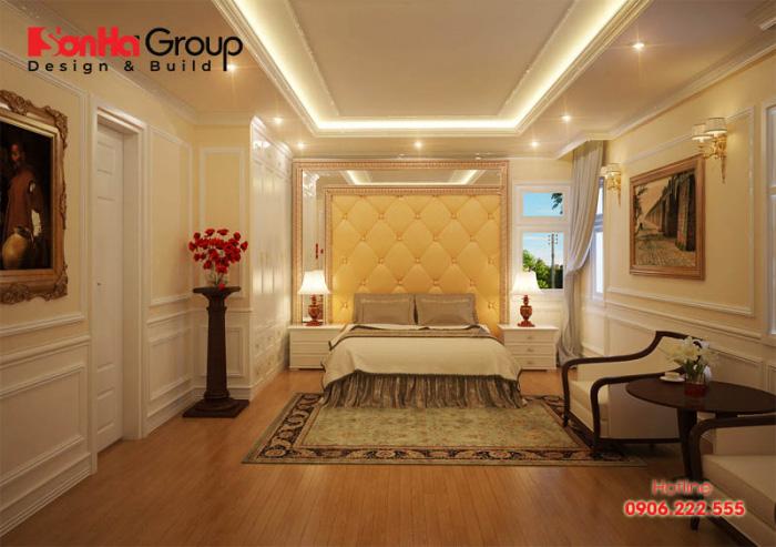 Cách bố trí phòng ngủ mang phong cách tân cổ điển đẹp mắt theo diện tích của căn phòng để đáp ứng sở thích mà chủ nhân đề ra