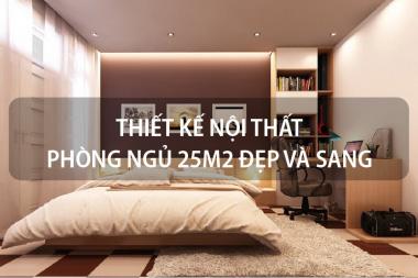 Cách thiết kế nội thất phòng ngủ 25m2 đẹp và sang giúp gia chủ rước tài lộc 11