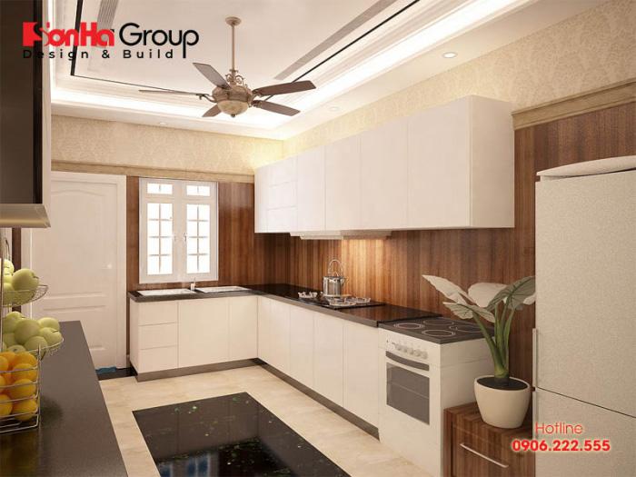 Giải pháp bố trí nội thất phòng bếp gọn gàng và ngăn nắp trên diện tích nhỏ