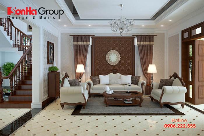 Khám phá những mẫu phòng khách đẹp nhất theo phong cách cổ điển đẹp, hài hòa với kiến trúc của ngôi nhà