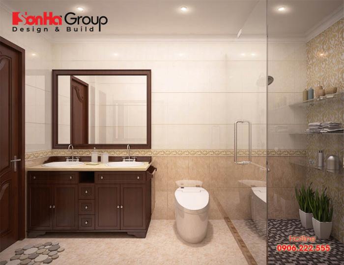 Khảo sát hiện trạng của phòng vệ sinh nhà phố với phong cách bày trí hiện đại, đơn giản và tiết kiệm chi phí đầu tư cho gia chủ