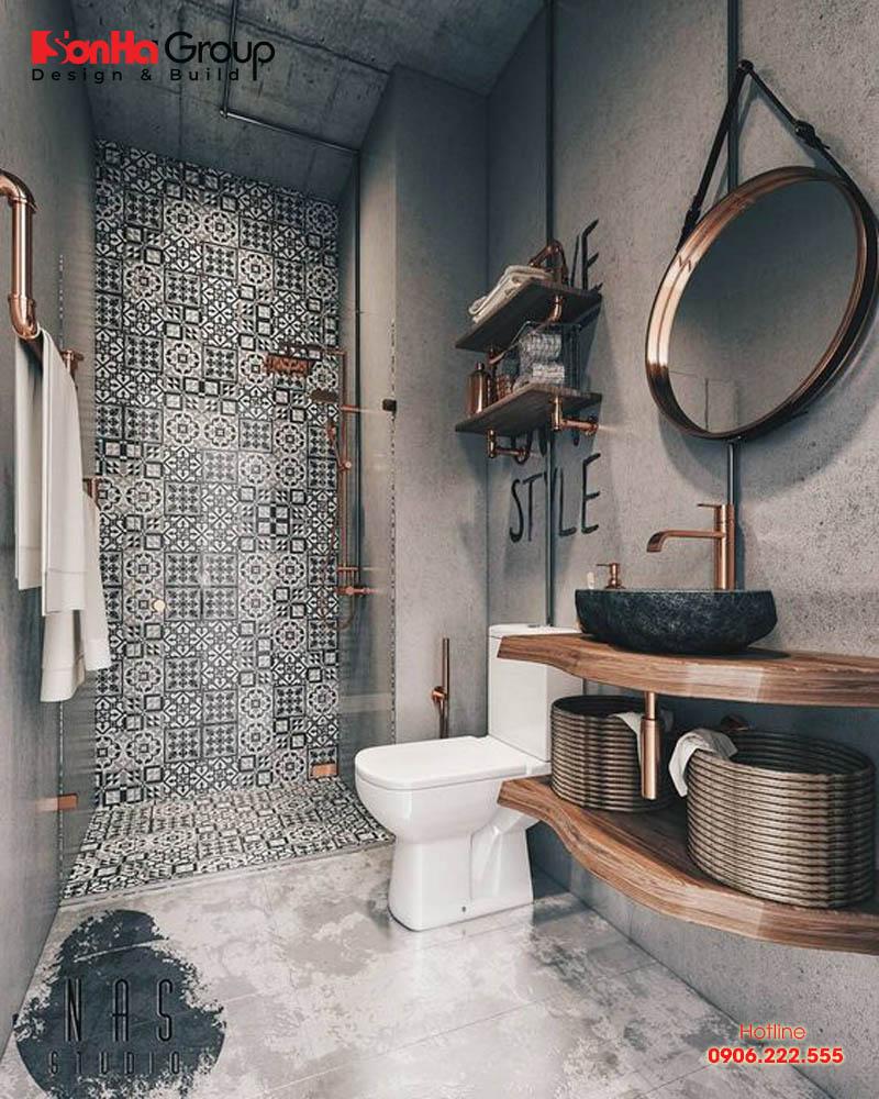 Thiết kế phòng tắm nhỏ đẹp diện tích sử dụng chỉ từ 3m2 đến 5m2 3