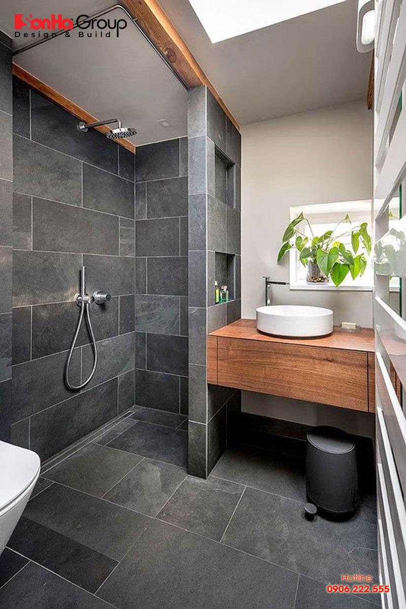 Thiết kế phòng tắm nhỏ đẹp diện tích sử dụng chỉ từ 3m2 đến 5m2 2