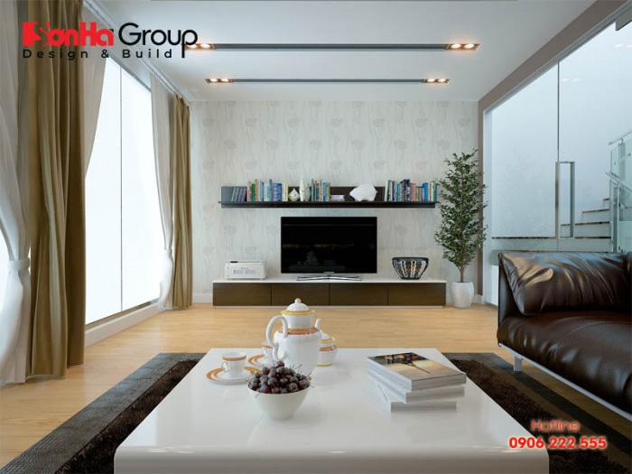 Mỗi ý tưởng trang trí phòng khách dành cho nhà phố đẹp, độc lạ tạo nên dấu ấn riêng của chủ nhân