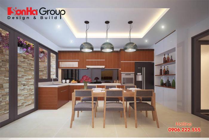 Tư vấn thiết kế nội thất phòng bếp hiện đại với tủ bếp các loại 3