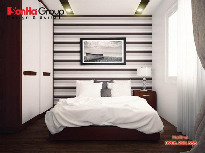 Nội thất phòng ngủ hiện đại đẹp với tone màu trắng chủ đạo đón đầu xu hướng 2020
