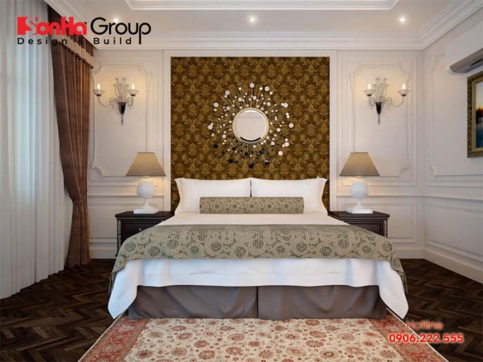 Phong cách thiết kế nội thất phòng ngủ đẹp, sang trọng, vương giả với cá tính của chủ nhân đề ra
