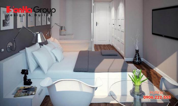 Phòng ngủ cho người mệnh Thủy nên sử dụng bàn hình tròn