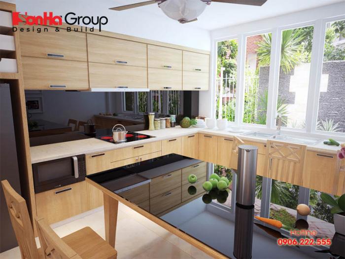 Tư vấn thiết kế nội thất phòng bếp hiện đại với tủ bếp các loại 2
