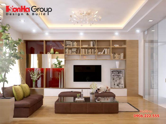 Thiết kế nội thất phòng khách đơn giản cá tính đẹp với cách trang trí trẻ trung được nhiều người ưa chuộng