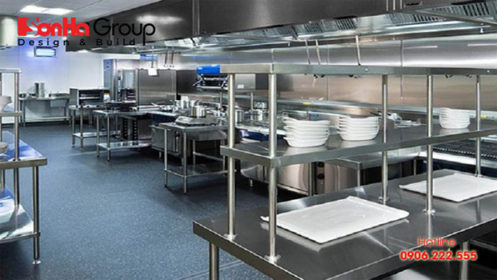 Tiêu chuẩn và quy tắc thiết kế phòng ăn khách sạn cập nhật mới nhất