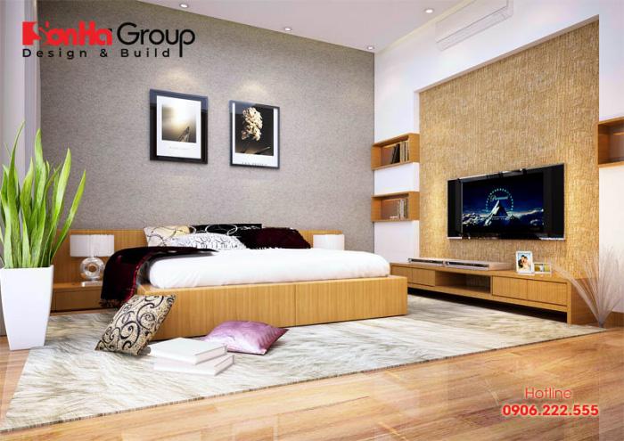 Xu hướng thiết kế phòng ngủ hiện đại tinh tế và ngăn nắp khiến ai cũng hài lòng khi ngắm nhìn
