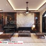 1 Thiết kế nội thất phòng khách biệt thự khu đô thị vinhome imperia hải phòng vhi 005
