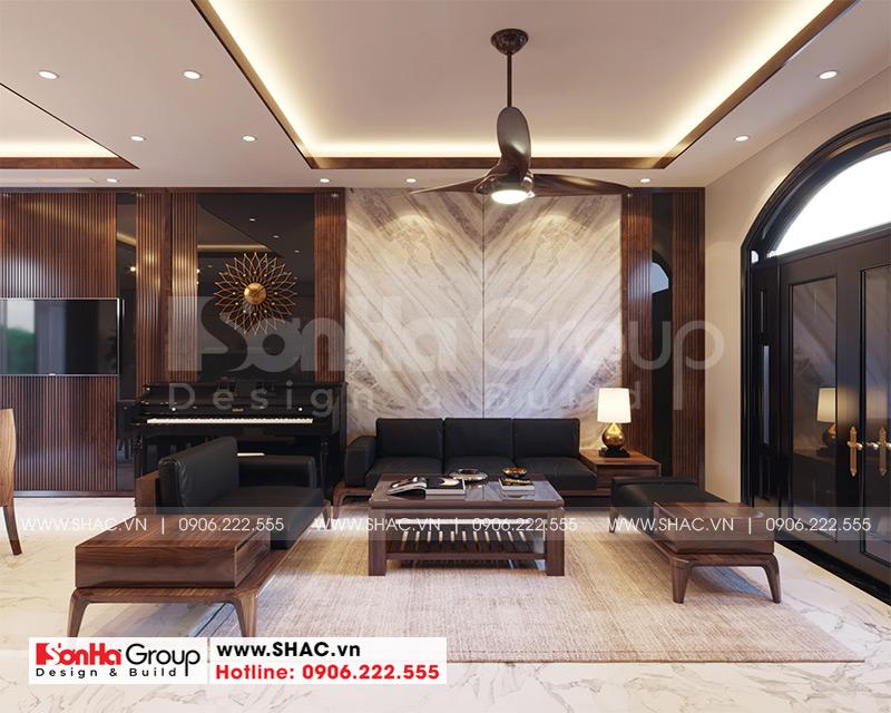 Thiết kế thi công nội thất biệt thự tân cổ điển 3 tầng 8m x 10,1m tại KĐT Vinhomes Imperia Hải Phòng 1