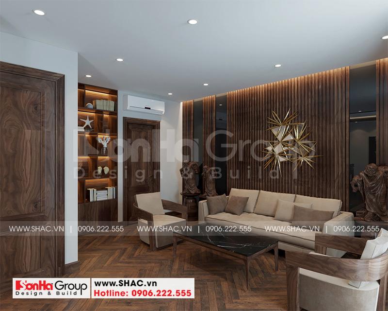 Thiết kế thi công nội thất biệt thự tân cổ điển 3 tầng 8m x 10,1m tại KĐT Vinhomes Imperia Hải Phòng 10