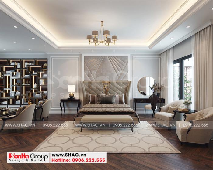 Ý tưởng trang trí phòng ngủ master với nội thất hiện đại đón đầu mọi xu hướng