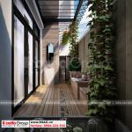 11 Thiết kế tiểu cảnh sân vườn biệt thự khu đô thị vinhome inperia hải phòng vhi 0005