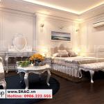 12 Cách trang trí nội thất phòng ngủ tầng 4 nhà ống hiện đại đẹp 6 tầng tại hà nội sh nod 0211