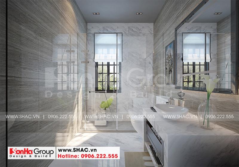 Thiết kế thi công nội thất biệt thự tân cổ điển 3 tầng 8m x 10,1m tại KĐT Vinhomes Imperia Hải Phòng 12