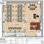 16 Mặt bằng tầng 3 nhà ống hiện đại có 3 phòng ngủ tại hà nội sh nod 0211