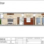 5 Bản vẽ tầng 2 nhà ống hiện đại đẹp tại hải phòng sh nod 0212