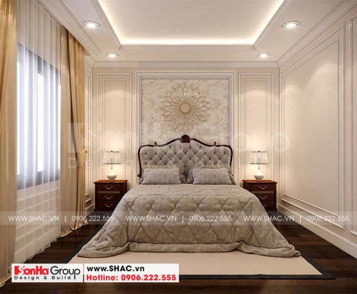 Mẫu phòng ngủ đẹp được trang trí theo phong cách tân cổ điển sang trọng
