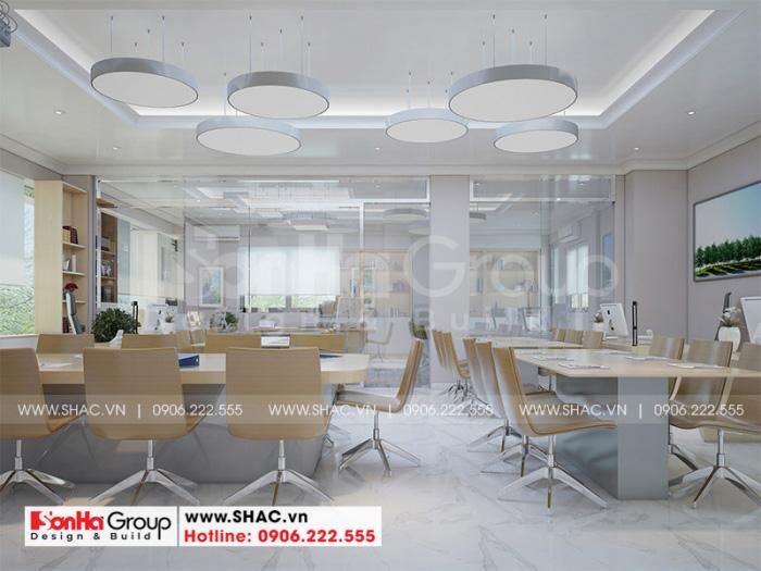 Ý tưởng thiết kế nội thất phòng làm việc hiện đại, trẻ trung giúp nhân viên đạt hiệu quả cao trong công việc