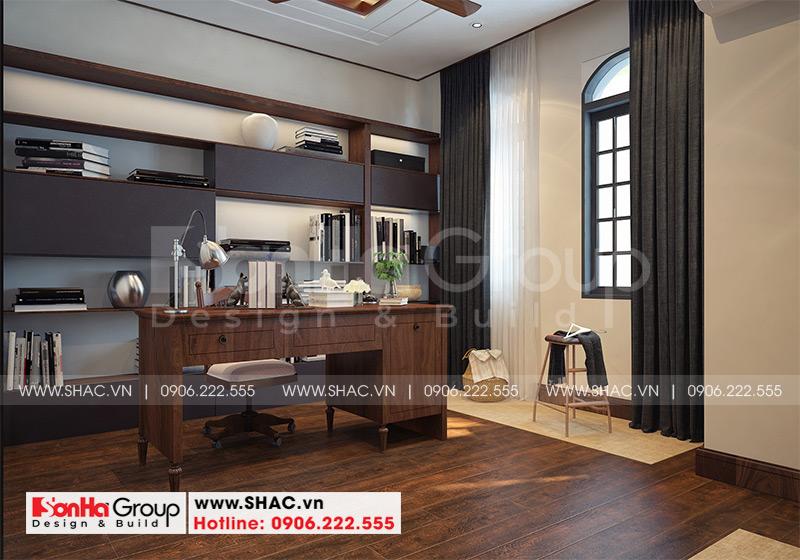 Thiết kế thi công nội thất biệt thự tân cổ điển 3 tầng 8m x 10,1m tại KĐT Vinhomes Imperia Hải Phòng 7