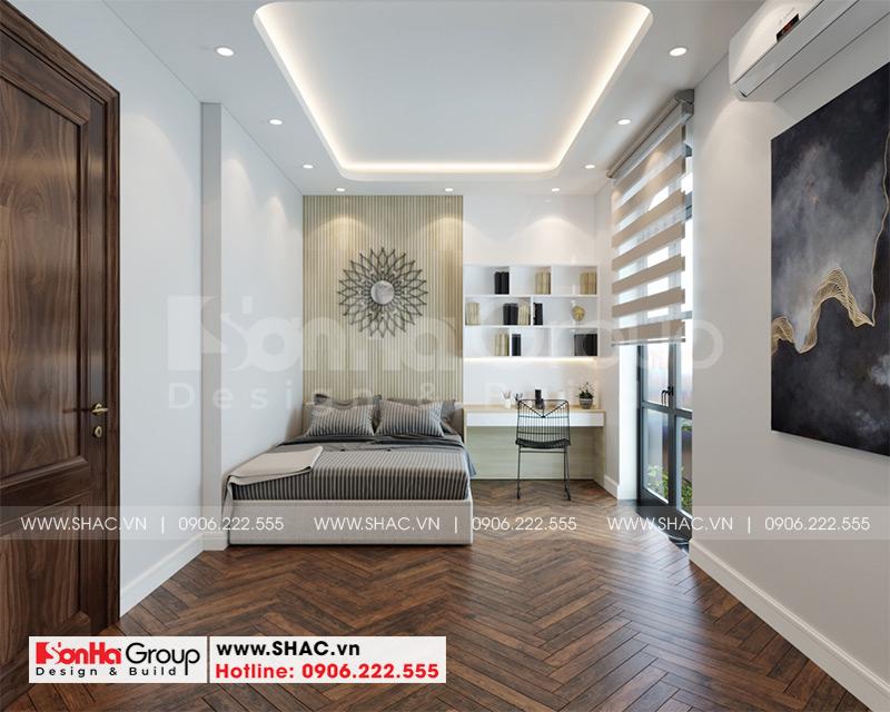 Thiết kế thi công nội thất biệt thự tân cổ điển 3 tầng 8m x 10,1m tại KĐT Vinhomes Imperia Hải Phòng 8