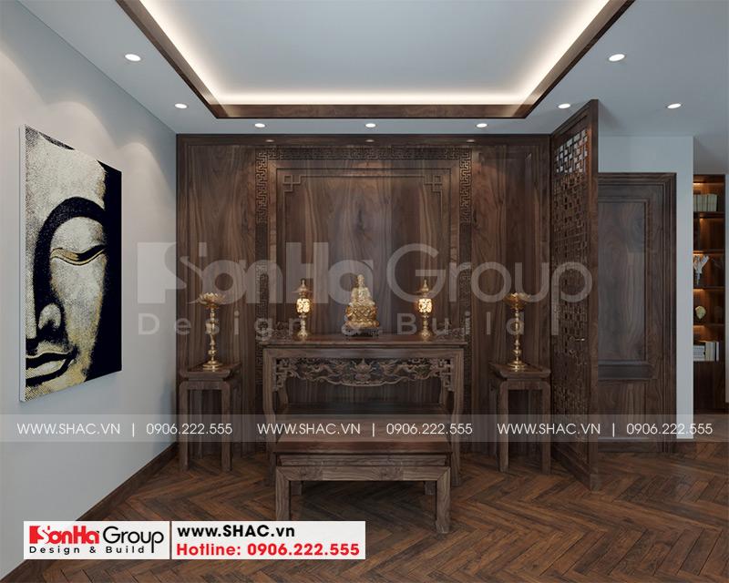 Thiết kế thi công nội thất biệt thự tân cổ điển 3 tầng 8m x 10,1m tại KĐT Vinhomes Imperia Hải Phòng 9
