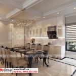 9 Thiết kế nội thất phòng bếp ăn nhà ống hiện đại mặt tiền rộng tại hà nội sh nod 0211
