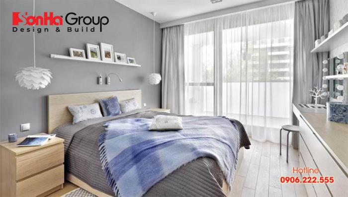 Ánh sáng tự nhiên thực sự cần thiết đối với không gian phòng ngủ, đặc biệt là phòng ngủ nhỏ 12m2