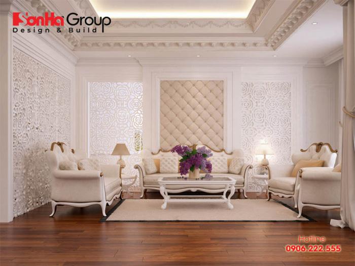 20+ Không gian phòng khách nhà ống kiểu cổ điển và tân cổ điển đẹp nhất [next_year] 3
