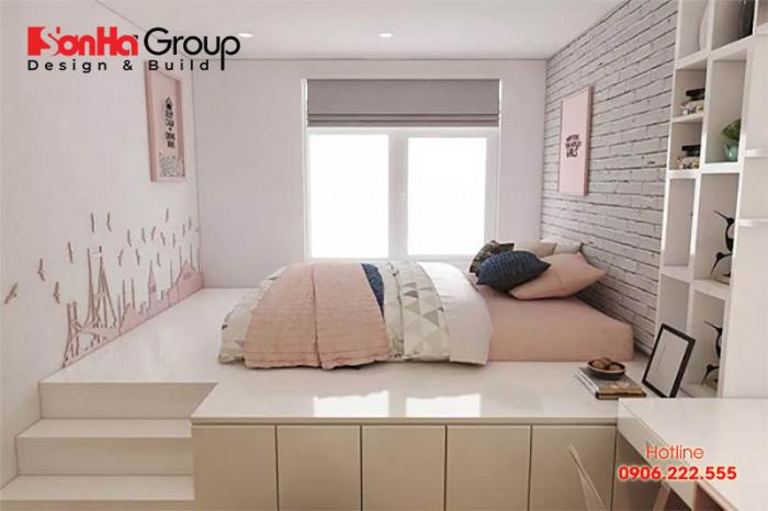 Dựa trên kinh phí đầu tư, cá tính của mỗi gia chủ mà KTS Sơn Hà bày trí phòng ngủ 7m2 sao cho hài hòa, gọn gàng nhất