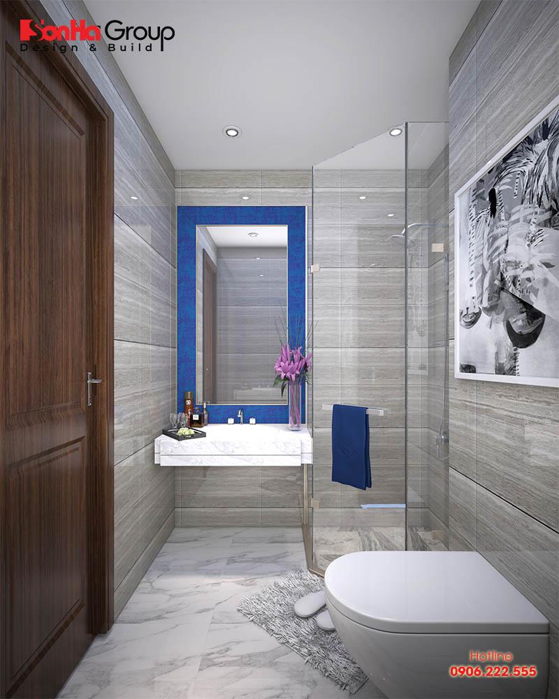 Thiết kế phòng tắm nhỏ đẹp diện tích sử dụng chỉ từ 3m2 đến 5m2 1