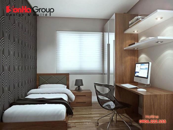 Phòng ngủ là nơi riêng tư của bạn nên cần đảm bảo vị trí nằm nghỉ ngơi thoải mái, dễ chịu