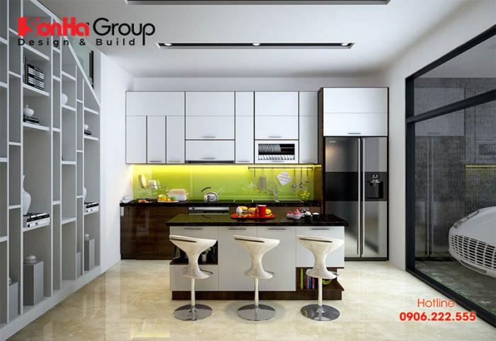 Tư vấn thiết kế nội thất phòng bếp hiện đại với tủ bếp các loại 11