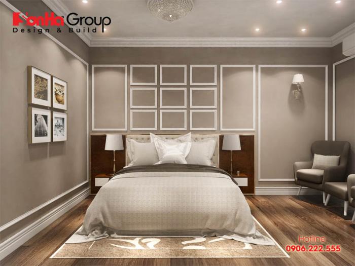 Thiết kế nội thất phòng ngủ 15m2 hiện đại đơn giản đẹp và trang nhã với sắc màu nhẹ nhàng, tươi mới
