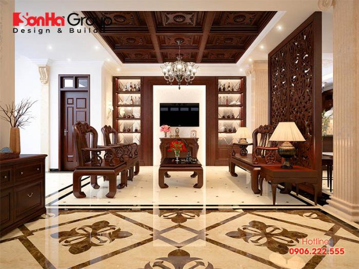 Tìm hiểu xu hướng trang trí phòng khách bằng gỗ tự nhiên thịnh hành nhất hiện nay
