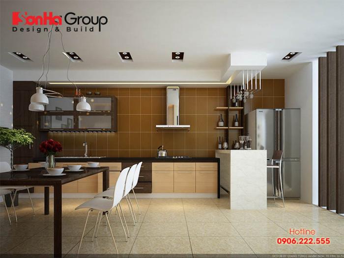 Tư vấn thiết kế nội thất phòng bếp hiện đại với tủ bếp các loại 9